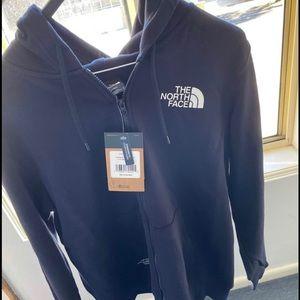 The Northface hoodie jacket